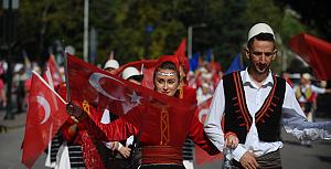 Bursa'da Kurtuluş Coşkusu...