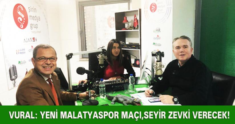 Adem Vural: Yeni Malatyaspor Maçı Seyir Zevki Verecek