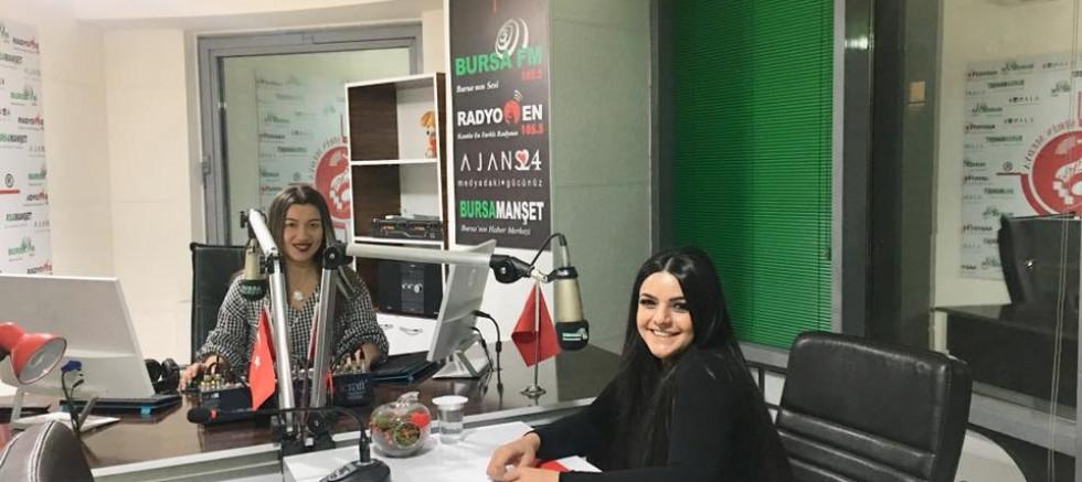 ARZU ŞAHİN BURSA FM / RADYO EN STÜDYOLARINDA