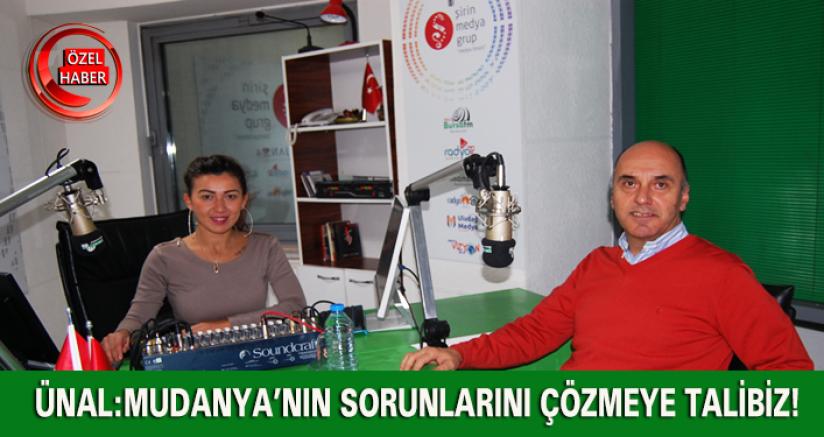 Ünal: Mudanya'nın Sorunlarını Çözmeye Talibiz!