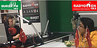 Ünlü Türkücü Güler Duman Bursa FM/Radyo EN Stüdyolarında...