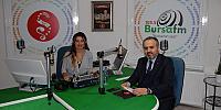 Alinur Aktaş Bursada Gündem Ortak Canlı Yayınına Konuk Oldu